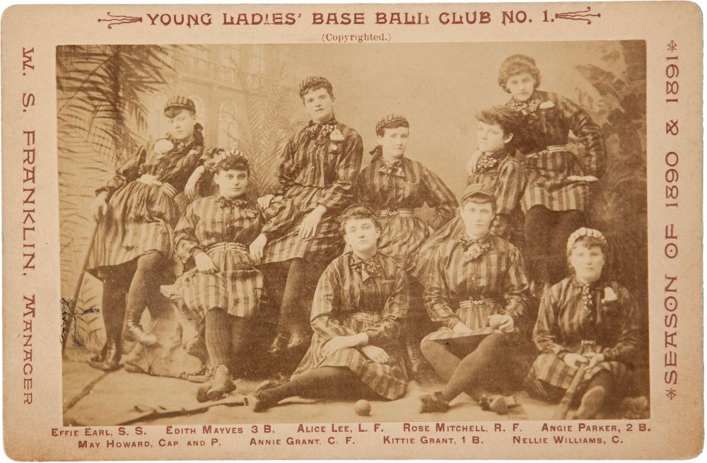 Many young women's clubs existed by the turn of the century (here, in 1890).