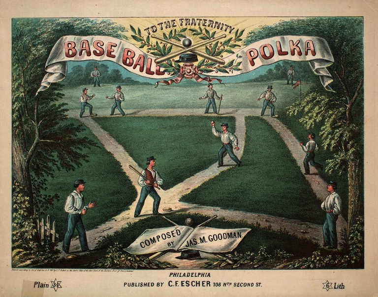 base ball polka